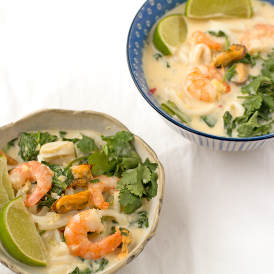 Type 1 Kitchen Seafood coconut soupy noodles-550