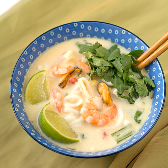 Type 1 Kitchen Seafood coconut soupy noodles550