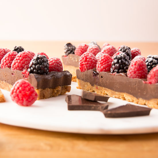 Holly-Cooks-chocolate-raspberry-and-blackberry-on-round-dish-detail550
